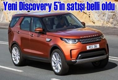 İşte Yeni Discovery 5