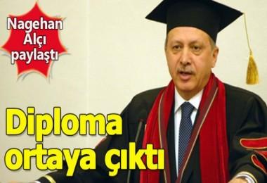 Erdoğan'ın Diploması Ortaya çıktı