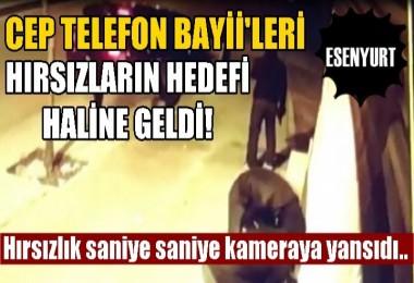 Esenyurt'ta Cep Telefonu Bayiilerinin Hırsız İsyanı