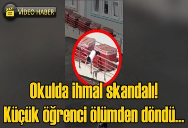 Okulda ihmal skandalı! Küçük öğrenci ölümden döndü…