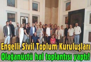 Engelli Sivil Toplum Kuruluşları olağanüstü hal toplantısı yaptı!