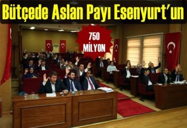 Esenyurt Bütçesi 750 Milyon