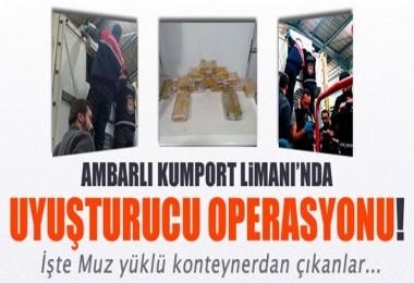 Ambarlı Limanında Büyük Operasyon