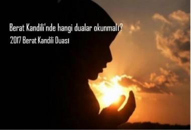 Berat Kandilinde bu duaları mutlaka okuyun