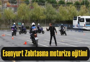 Esenyurt Zabıtasına motorize eğitimi