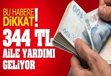 Emeklilere 344 Lira Aile Yardımı