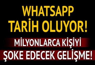 WhatsApp Tarih oluyor