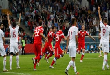 Rusya 2 - 0 Türkiye