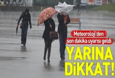 Meteoroloji'den İstanbul için son dakika uyarısı! Çok kuvvetli olacak