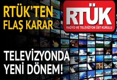 Televizyonda yeni dönem!