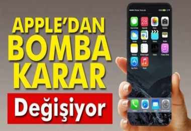 Apple'dan bomba karar