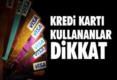 Kredi Kartı faizlerinde artış!