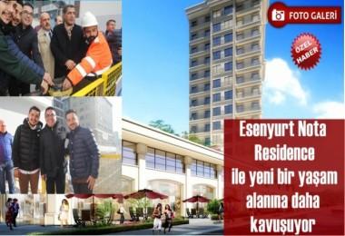 Nota Residence Temelini Attı