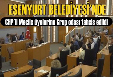 CHP'li Meclis üyelerine Grup odası tahsis edildi