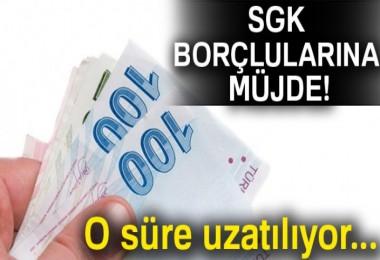 SGK borçlularına müjde