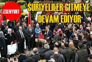 Esenyurt Belediyesi Suriyelileri Göndermeye Devam ediyor