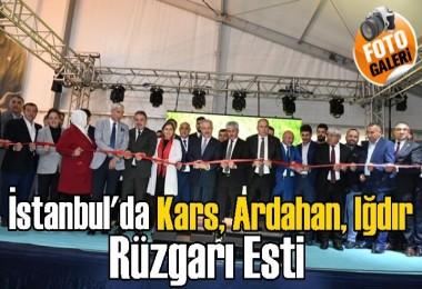 İstanbul'da Kars, Ardahan, Iğdır rüzgarı esti