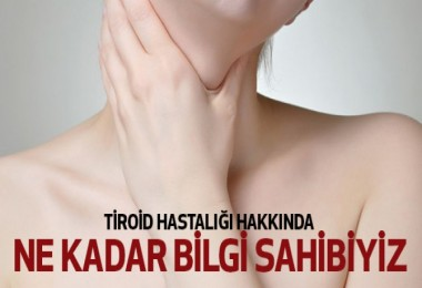 Tiroid hastası olduğunuzun 6 işareti