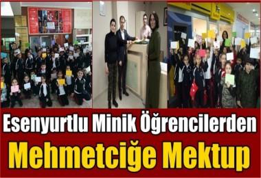 Minik Öğrencilerden Mehmetciğe mektup