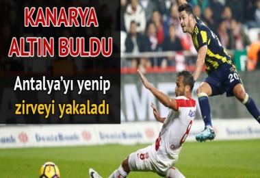 Antalyaspor 0 - 1 Fenerbahçe