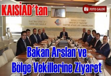 KAISİAD'tan Ankara'ya Çıkartma