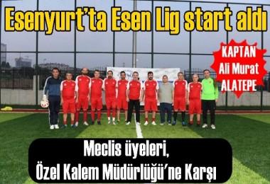 Esenyurt'ta Esen Lig start aldı