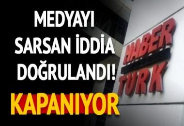 Habertürk Gazetesi kapatılıyor!