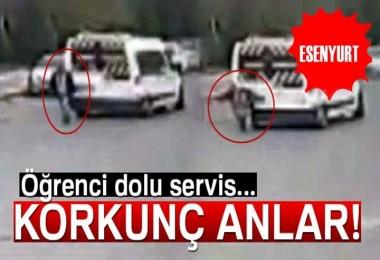 Esenyurt'ta Servis Aracının Çarptığı Kişi Öldü