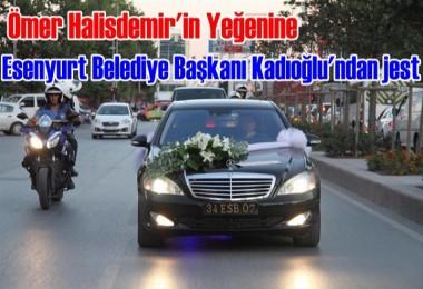 Ömer Halisdemir'in yeğenine Başkan Kadıoğlu'ndan jest
