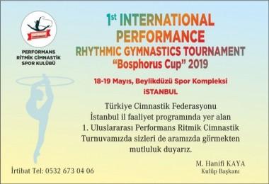Performans Ritmik Cimnastik'den Davet