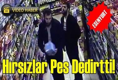Hırsızlar Pes Dedirtti!