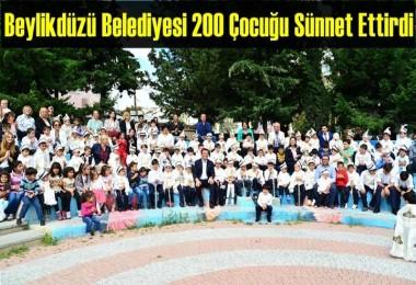Beylikdüzü'nde 200 Çocuk Sünnet ettirildi