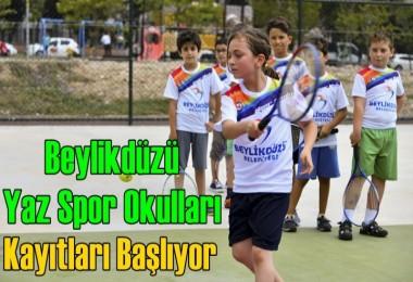 Beylikdüzü Yaz Spor Okulları Kayıtları Başlıyor