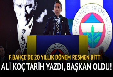 Fenerbahçe'de Ali Koç dönemi