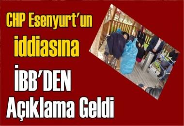 CHP'nin 'Yaşlılar sokağa atıldı' iddiasına iBB'den Açıklama
