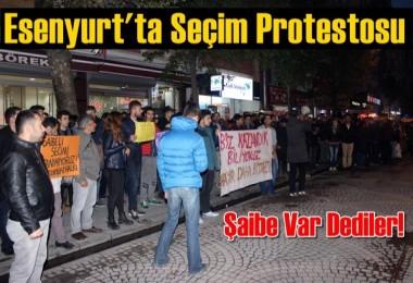 Esenyurt'ta Seçim Protestosu