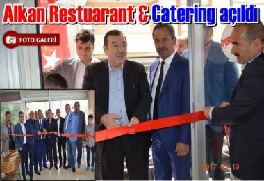 Alkan Restuarant & Catering açıldı