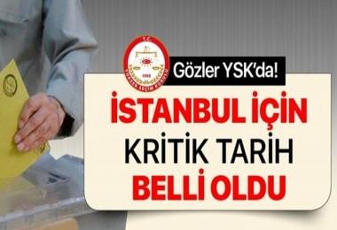İstanbul için son gün 3 Mayıs