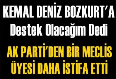 Ak Parti Belediye meclis üyesi Ali Susuz partisinden istifa etti