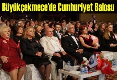 Büyükçekmece'de Cumhuriyet Balosu