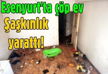Esenyurt'ta çöp ev şaşkınlık yarattı!