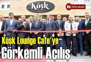 Köşk Lounge'nin açılışını ilçe protokolü yaptı