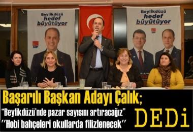 CHP Beylikdüzü Belediye Başkan Adayı Mehmet Murat Çalık'a Büyük İlgi