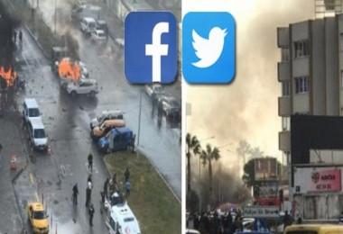 İzmir'deki patlama sosyal medyanın gündeminde