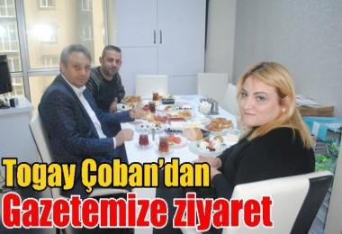 Togay Çoban'dan Gazetemize ziyaret