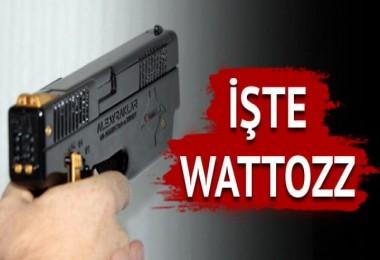 İşte Türkiye'nin ilk elektroşok silahı Wattozz