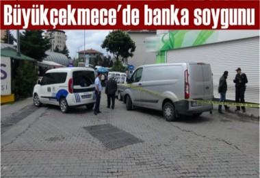 Büyükçekmece'de banka soygunu