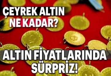Altın Fiyatlarında Süpriz