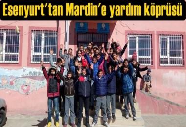 Esenyurt'tan Mardin'e yardım köprüsü