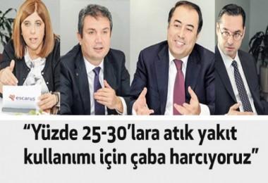 """Kamil Gökhan Bozkurt : """"Yüzde 25-30'lara atık yakıt kullanımı için çaba harcıyoruz"""""""